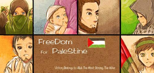 Freedom For Palestine by yana8nurel6bdkbaik
