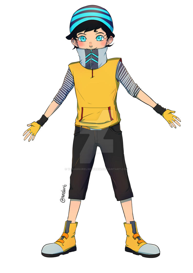 Ochobot human by yana8nurel6bdkbaik