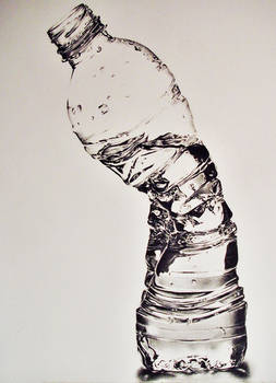 Crushed Waterbottle