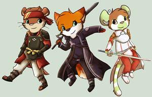 Sword Art Online by Star-Swirls
