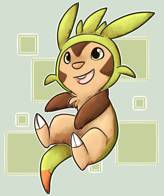 Gen VI- Chespin by Star-Swirls