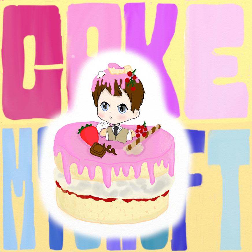 Mycroft  cake by YandereKirklandChan