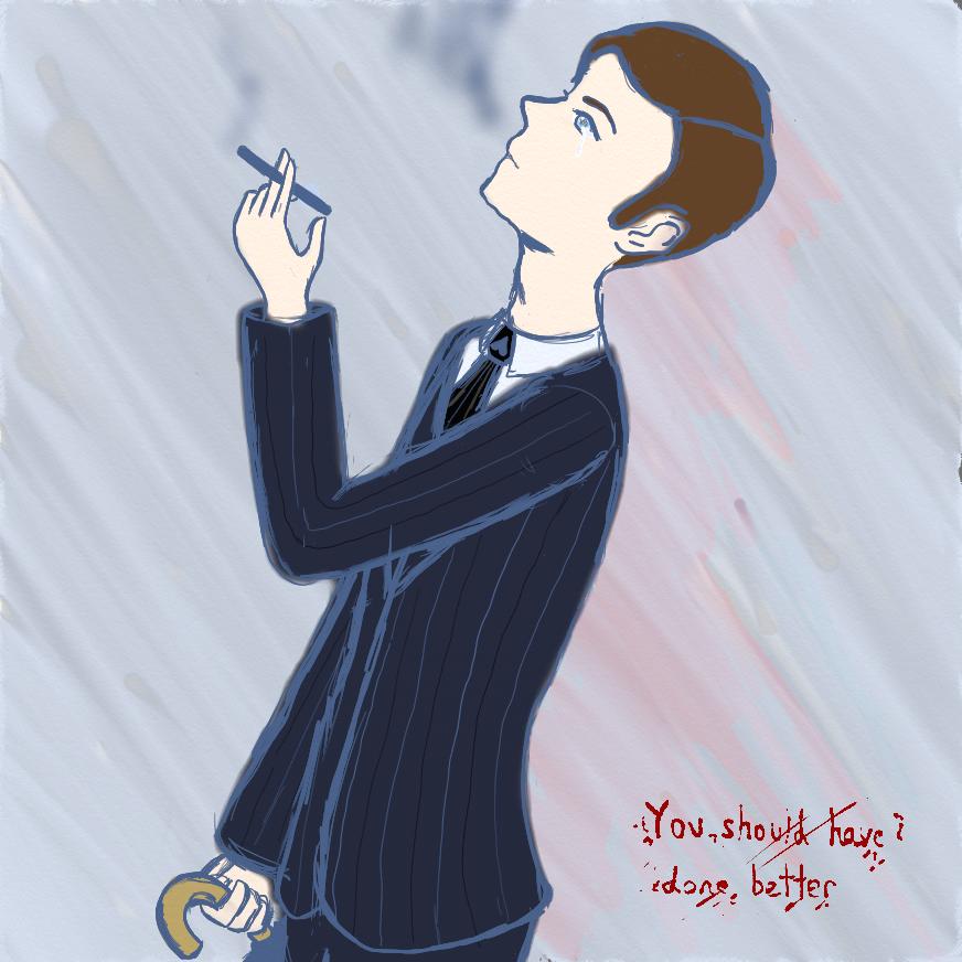 You should have done better~Mycroft by YandereKirklandChan