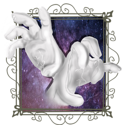 Master Hand and Crazy Hand by EustakiaPuchero