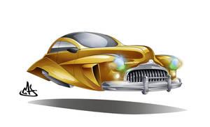 concept flying car 2 by mherrador