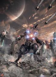 Battle for Elara by mherrador