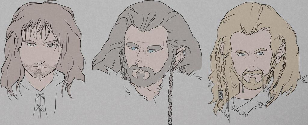 Kili Thorin Fili by Sevvie
