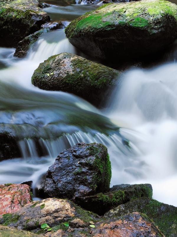 Silk and rocks... by pixelmadness