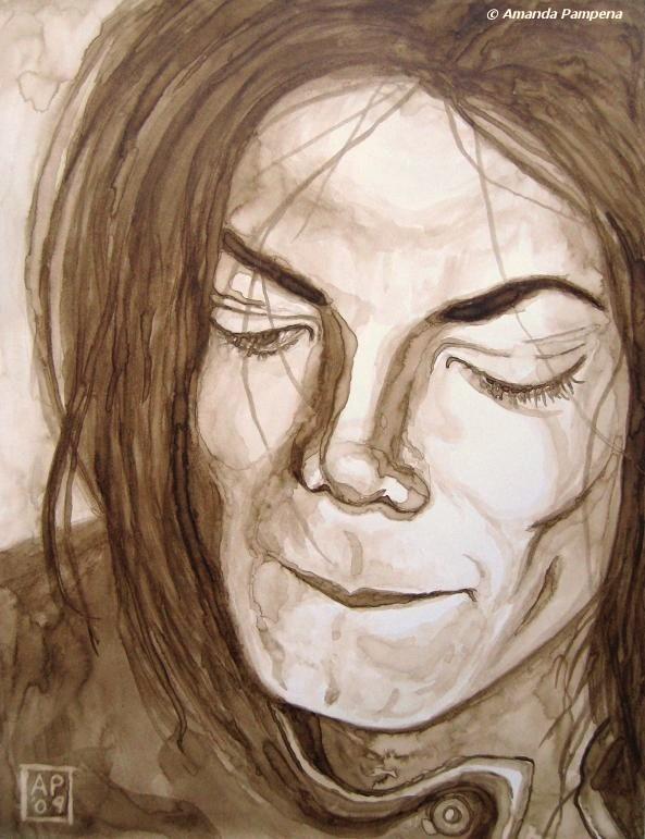 Michael Jackson III by amandapampena