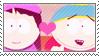 Stamp: CartmanWendy by NickelParkLavigne