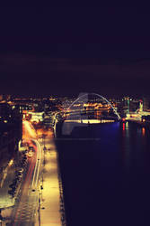newcastle at night, CP