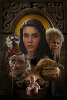 Labyrinth Poster by MisteryCat