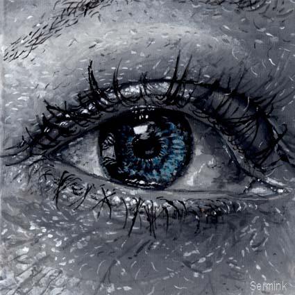 The blue eye by sermink