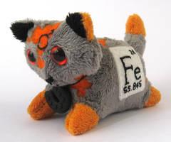 Elemental Cats: Iron