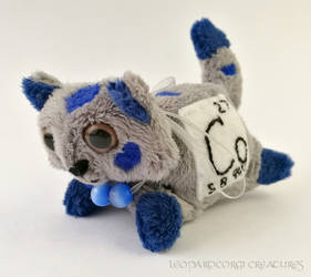 Elemental Cats: Cobalt