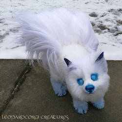 Alolan Vulpix - Posable Art Doll
