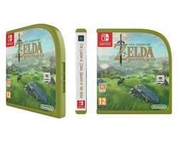 [Mockup] Zelda: BOTW Nintendo  Switch Case by emanon01