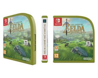 [Mockup] Zelda: BOTW Nintendo  Switch Case