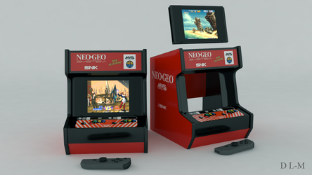Arcade stand model for Nintendo Switch (printable)