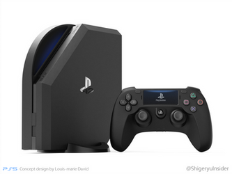 Ps5 Fanmade design by emanon01