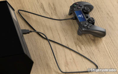 Ps5 Fake Devkit and controller by emanon01