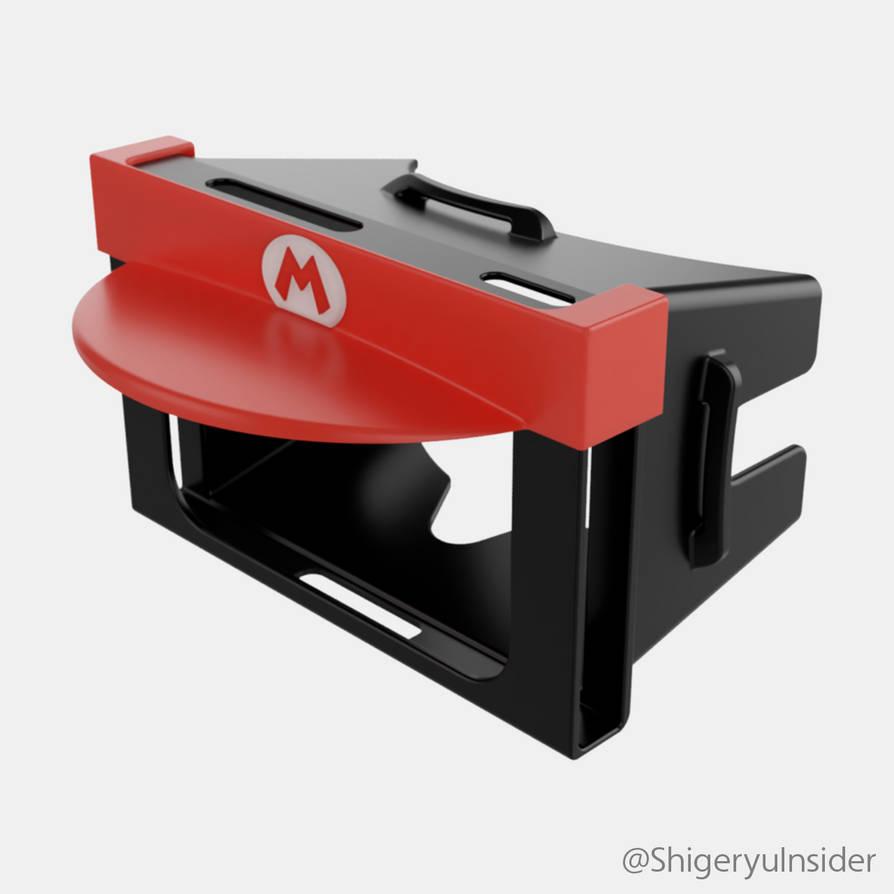 Nintendo switch VR-Kit Mario edition by emanon01