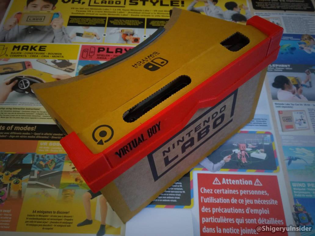 Nintendo labo VR-kit customized by emanon01