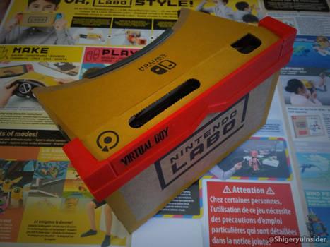 Nintendo labo VR-kit customized