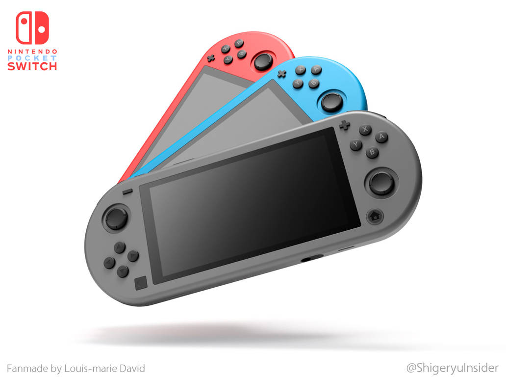 Nintendo Pocket Switch fanmade by emanon01