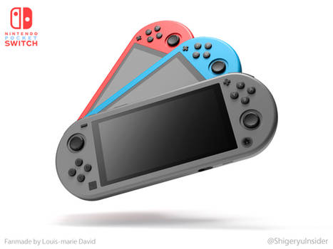 Nintendo Pocket Switch fanmade