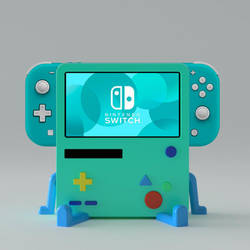 BMO for Nintendo Switch Lite!