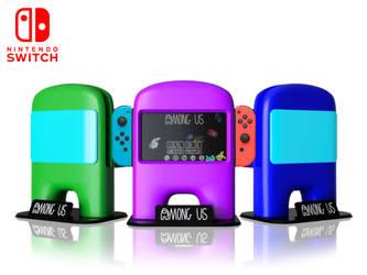 AmongUS Nintendo Switch Dock