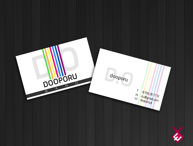 Business Card for music band. by encore13 on DeviantArt