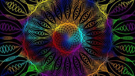 Mandala Wallpaper by N-C-yanFlame