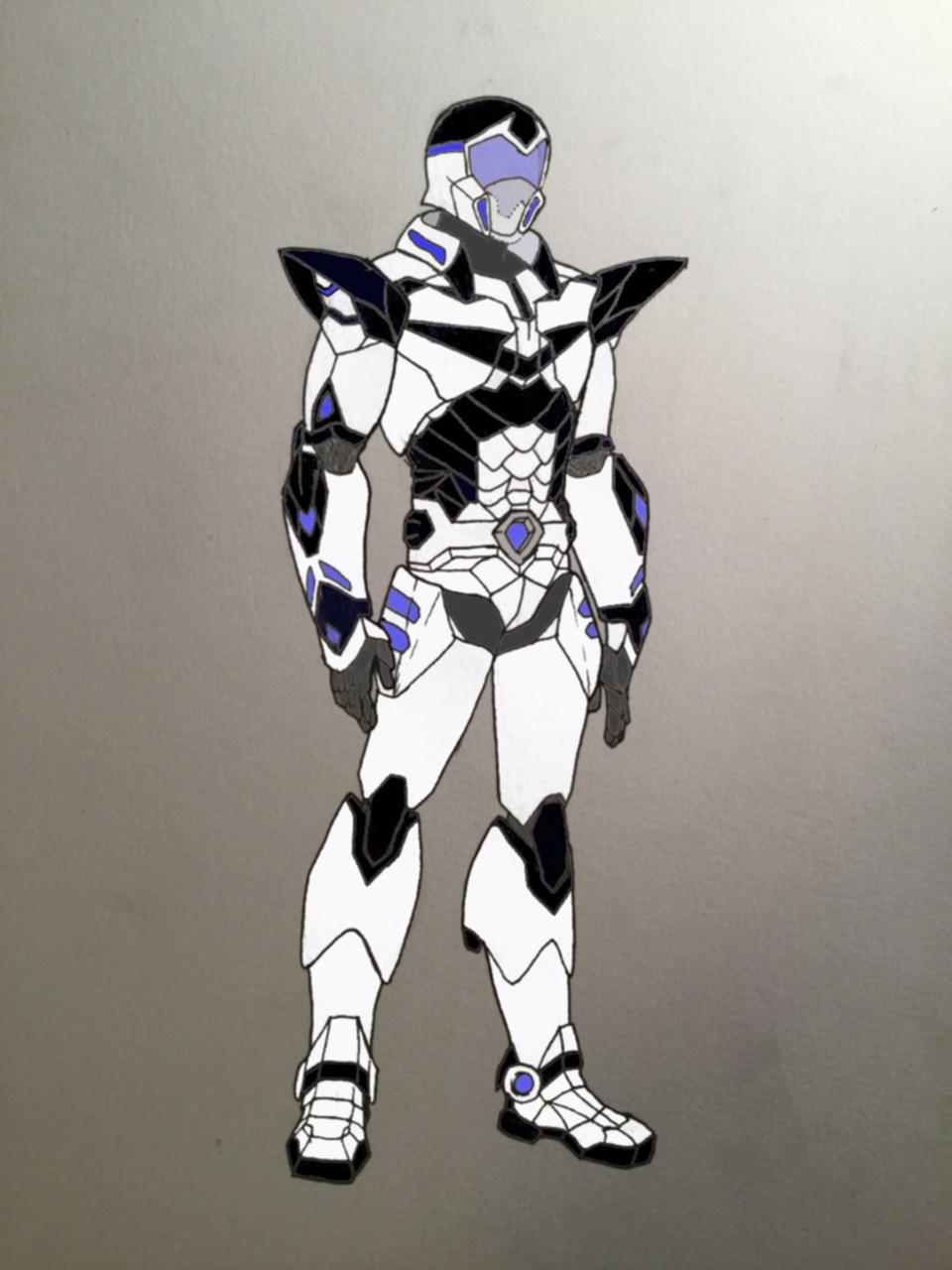 Voltron Paladin Armor Redesign (Flat Colors) by OmniWorldImaginator on DeviantArt