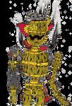 Steam Punk Barrel Robot by cheezeEGGSTREEME