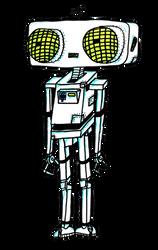 Mr. Blipnsmyth The Handy Helper Droid. by cheezeEGGSTREEME