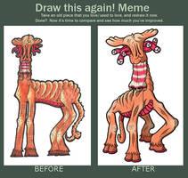 Moogong (Draw This Again! Meme)