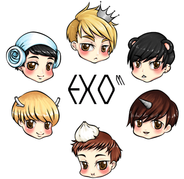 EXO M By Luhans Love