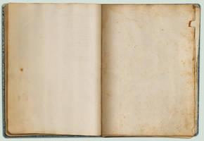 Vintage sketchbook template