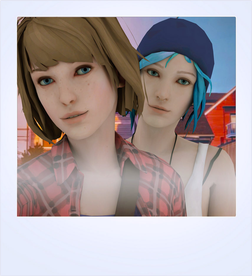 Max and Chloe Selfie (inspired by KR0NPR1NZ art) by forrester961