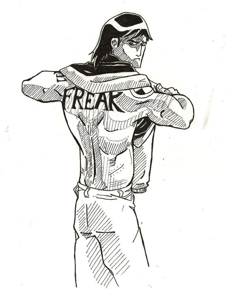 Freak by dingoyellowdog