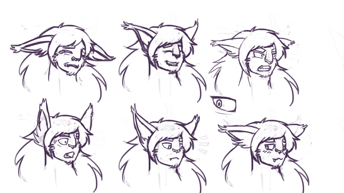 Lets give Sego expressions attempt #1 by HedgehodgeMonster