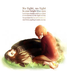 No Light - Bagginshield by BrooklynSun