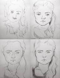 Self-portraits by BrooklynSun