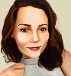 Self-portrait by BrooklynSun