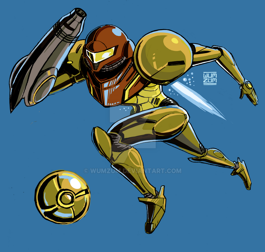 Smash Samus Onamission by Wumzum