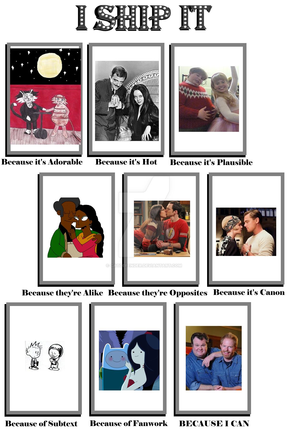 My I Ship It Meme