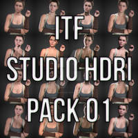 ITF Studio HDRI Pack 01 for Daz Studio