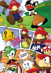 Chachi Mario Bros Deluxe Pag1 by Natsumemetalsonic